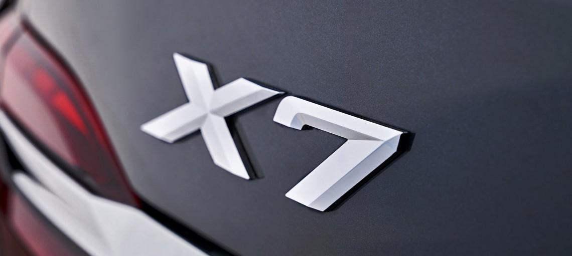 Новый BMW X7.