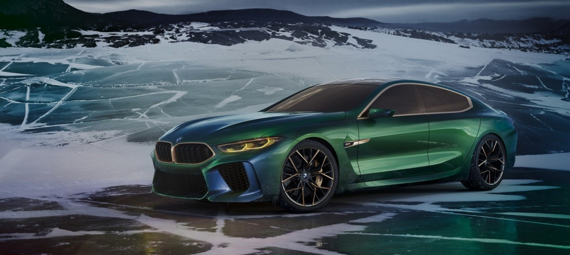 BMW Concept M8 Gran Coupe: новая интерпретация роскоши.