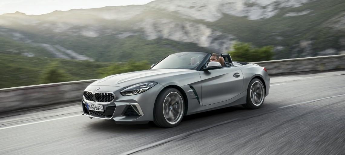 Новий BMW Z4.